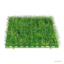 Grasplatte grün 25 x 25 cm Grasmatte Kunst-Gras Dekogras Blume Kunstrasen Nest
