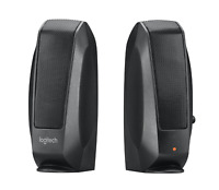 Logitech PC Lautsprecher S120 2.3 Watt Computer Audio Speaker Notebook Schwarz