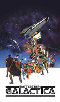 BATTLESTAR GALACTICA Movie POSTER Sci-Fi Star Wars Trek Darth Vader