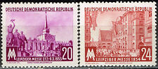 Germany Leipzig Fair Soviet and Chinese Pavilions stamps set 1955 MLH #231-2