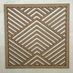 Radiator Cabinet Decorative Screening Square Radiator Grille MDF 3mm and 6mm P62