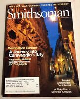 Smithsonian Magazine - Caravaggio Italy Helsinki Archimedes Amazon : March 2007