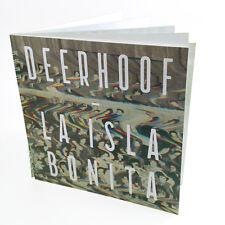 """Deerhoof La Isla Bonita 7"""" Flexi Disc Vinyl Record Book! bonus non lp song! NEW!"""