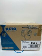 X Acto Commercial Electric Pencil Sharpener 1606 Model 41