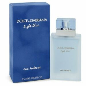 Light Blue Eau Intense by Dolce & Gabbana Eau De Parfum Spray .84 oz (Women)