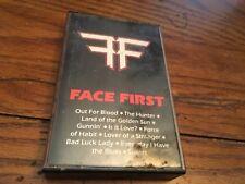 FACE FIRST 1987   DEMO CASSETTE INDIE HAIR METAL Suntana Records