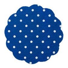 Tiny Polka Dot Spot Spotty Wool Blend Felt Fabric Square Choice of Colours