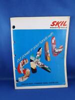 SKIL INDUSTRIAL POWER TOOLS  CATALOG ROTO-HAMMERS POWER SAWS DRILLS GRINDERS