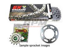 EK o ring chain & Supersprox steel sprocket kit for 13 - 18 KTM 390 Duke 15/45