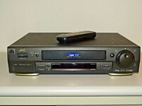 JVC HR-S7611 High-End S-VHS Videorecorder inkl. FB, 2 Jahre Garantie
