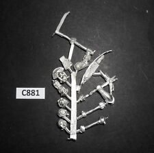 Warhammer Lord Of The Rings LOTR Metal ORC URUK HAI UPGRADE ACCESSORY SPRUE C881