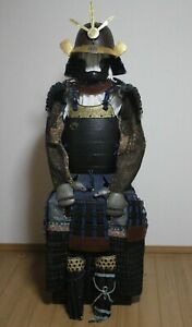 K:JAPANESE YOROI ARMOR KAGA GUSOKU, Konito Odoshi Okegawa NImai Dougusoku