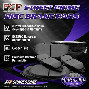 8pcs BCP Front + Rear Ceramic Brake Pads Set for BMW 3 Series 318i 320i E90 RWD