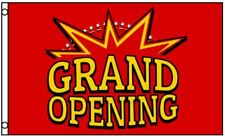 Grand Opening Flag Red And Yellow Business Banner 3 X 5 Foot New Sign 3x5