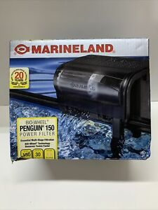 Marineland Penguin 150 Power Filter Bio- Wheel Up To 30 Gallon Aquarium