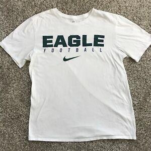 Nike Men's Eagle Football Tee Shirt White Size Medium
