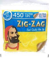 Zig Zag Filter Tips Ultra Slim 450's 1-50
