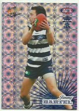2008 AFL Select Champions Holofoil GEELONG CATS HF77 JIMMY BARTEL CARD