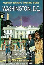 Mystery Reader's Walking Guide Washington DC 1998 Alzina Dale Tours Maps