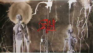 DEATH Human large poster / Chuck Schuldiner Spiritual Healing Leprosy Symbolic