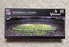 NFL Minnesota Vikings 1000 piece Panoramic Puzzle