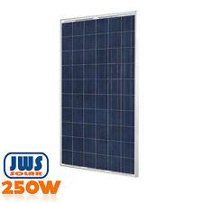 Solarpanel Solarmodul Solarzelle 250Watt Photovoltaik Solar 250W 24V OFF ON GRID