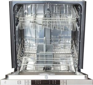 """ZLINE - 24"""" Compact Top Control Built-In Dishwasher with Stainless Steel Tub"""