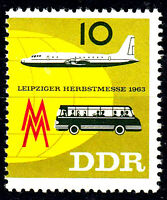 977 postfrisch DDR Briefmarke Stamp East Germany GDR Year Jahrgang 1963