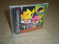THE MISADVENTURES OF TRON BONNE:.PLAYSTATION 1(PS1) NTSC EMPTY CASE+INLAYS ONLY.