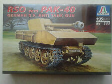 Italeri 355 RSO with PAK-40 German S.P. Anti Tank Gun 1:35 Neu & Versiegelt