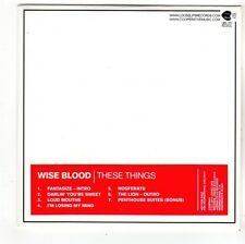 (FS266) Wise Blood, These Things - 2011 DJ CD
