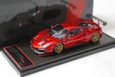 1:43 BBR Ferrari 488 Challenge EVO 2020 Rosso Fuoco/ gold wheel Limited 24 pcs.