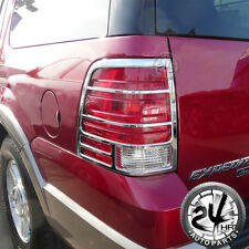 2003-2006 Ford Expedition SUV Taillight Tail Light Lamp Cover Triple Chrome ABS