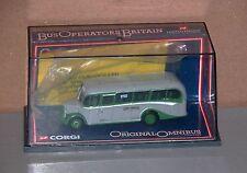 Corgi 42604 Bedford OB Coach Grey Green echelle 1/76° Neuf Boite (# A8)