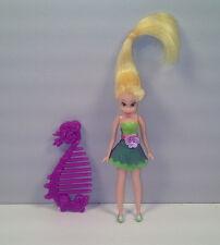 "3.75"" Tinker Bell Tinkerbell PVC Plastic Action Figure Doll Disney Peter Pan"