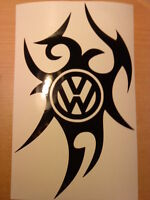 LARGE car bonnet vinyl sticker tribal side graphic decal golf polo beetle