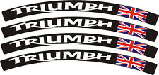 Stickers bord de JANTE PLASTIFIES TRIUMPH Daytona Speed Street Triple