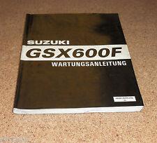 Werkstatthandbuch Suzuki GSX 600 F Stand 01/1997