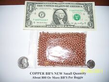 COPPER BB'S ORGONE MAKING SUPPLIES About 800 BB's - Reiki Crystal Grid Work
