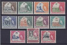 BASUTOLAND 1954, QEII, SG 43-53,  MNH **