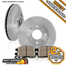 Front Brake Rotors and Ceramic Pads 2001 - 2005 TOYOTA ECHO MR2 BASE / SPYDER