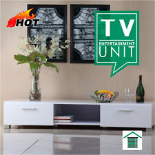 Brand new White Hi Gloss Entertainment Unit TV Stand Cabinet