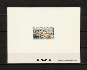 (YRAA 174) Senegal 1965 Deluxe Proof Mi 303 Sc 246 Post Office Dakar
