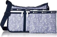 LeSportsac BT21 Denim Deluxe Everyday Crossbody Bag, LeSportsac Logo Strap NWT