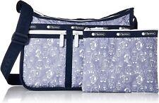 LeSportsac BT21 Denim Deluxe Everyday Crossbody Bag, LeSportsac Logo Strap NWT