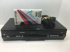 Toshiba VHS Player DVD Recorder SD-V295KU, No remote, A/V Cables Tested Working