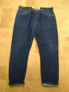 """LEVIS STRAUSS & CO  501  BLUE JEANS EXC COND  W40"""" L32""""  K11"""