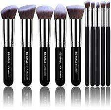 Set De Brochas Kabuki Sintéticas Para Aplicación De Maquillaje Profesional...