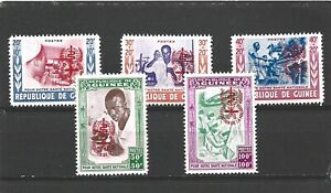 Guinea 1962 Malaria Eradication Set MNH