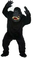 Adult Goin' Bananas! Gorilla Full Suit Costume One Size w/ Hands Feet Halloween